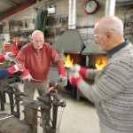 Blacksmithing course at Ironart (3)