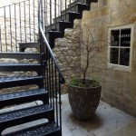 Staircase on the Royal Crescent, Bath