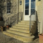 Handrails in Widcombe, Bath