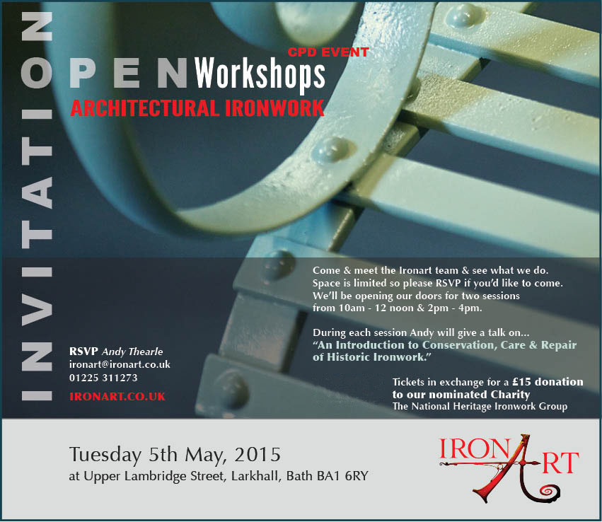 Ironart CPD Event 5th May 2015