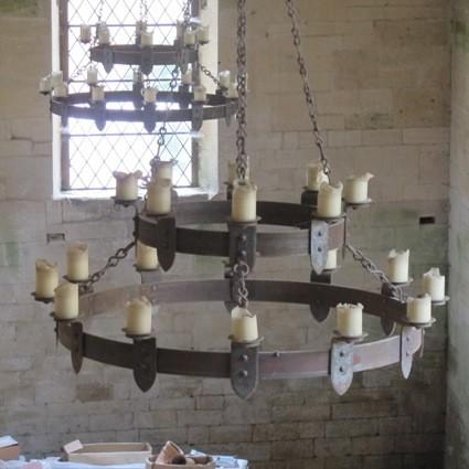 The Circular Barn Chandeliers Ironart Of Bath