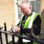 Georgian railing restoration - Bath (19)