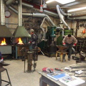Blacksmithing course