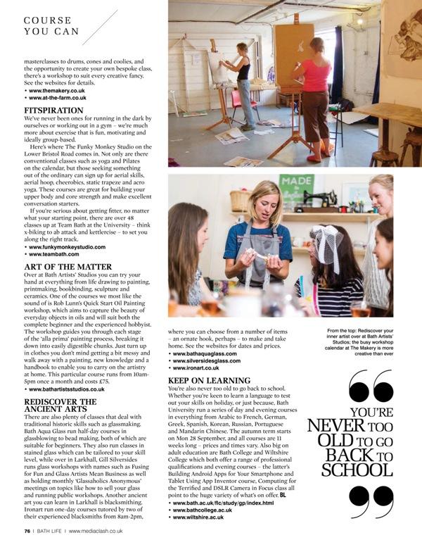 Bath Life Magazine - August 2015 (1)