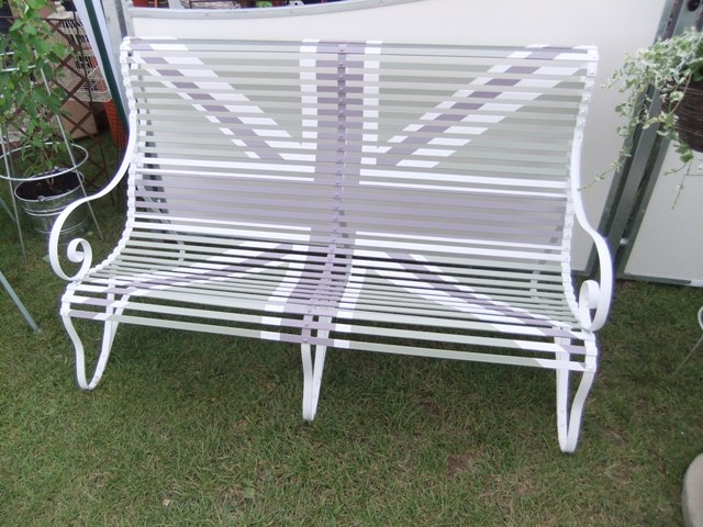 Union Jack Lansdown Bench
