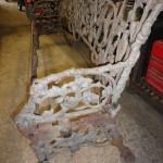 Bench re-assembled