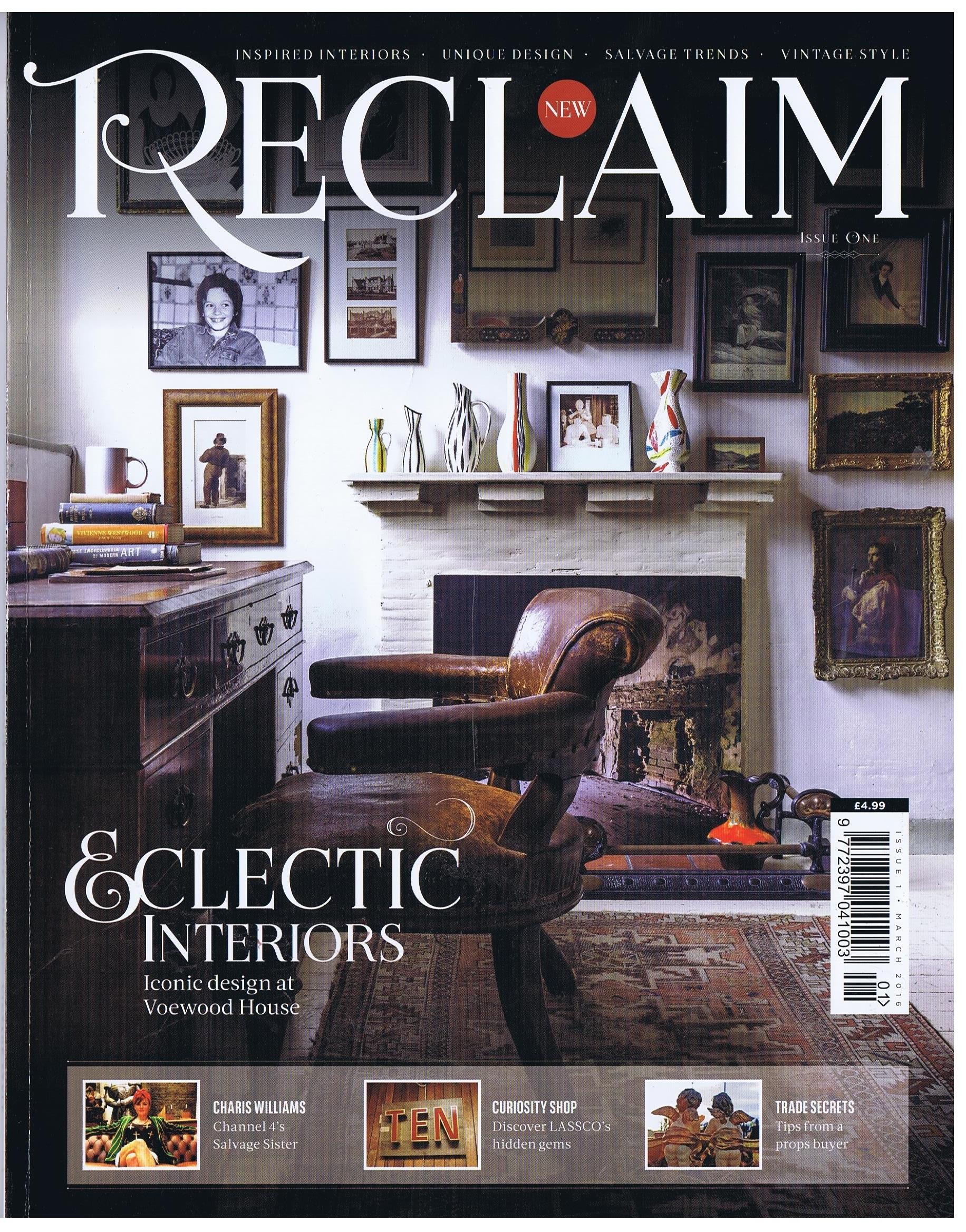 Reclaim Magazine Ironart Of Bath