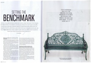 Ironart's Martin Smith talks about his background in restoration and recent Coalbrookdale bench restoration project