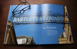 Bartlett St, Bath commemorative book