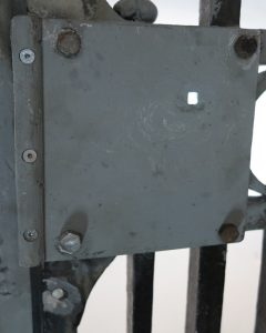 Restored lockbox by Keith Carrier & Son