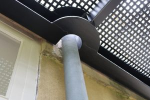 Detail to accommodate pipework