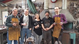 Jason and his workshop students