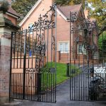 A beautiful pair of 19th century gates brought back to life