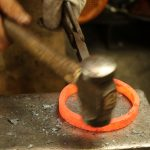 Fire welding rings 5