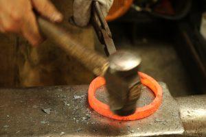 Fire welding rings 5