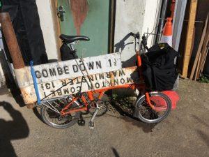 Brompton signpost