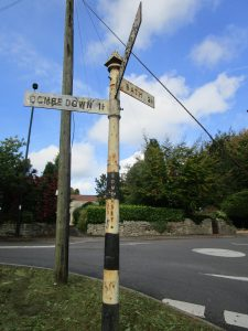 Oct 17 signpost Brassknocker Hill