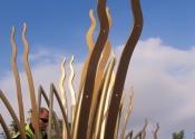 Ironart - Sun Flower Sculpture