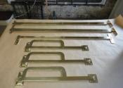Bespoke brass shutter bars (2)