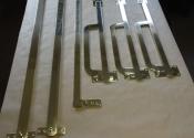 Bespoke brass shutter bars (7)