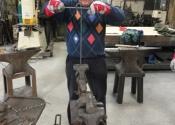 Blacksmithing course at Ironart (2)
