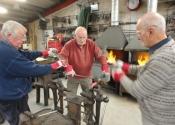 Blacksmithing course at Ironart (3)