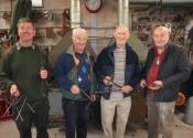 Blacksmithing course at Ironart (6)