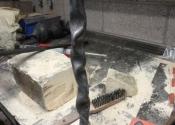 Blacksmithing course at Ironart (7)