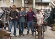 Blacksmith workshop with Martin