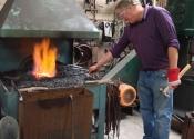Blacksmithing workshop July 12 (9)