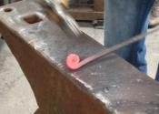 Bob Mytton Blacksmithing Course at Ironart (1)