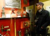 Ironart team visit John Powell at the Museum of Iron, Coalbrookdale