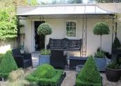 Restoration of a broken Coalbrookedale Horsechestnut antique garden bench