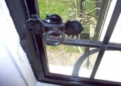 Replacement casement window latches by Ironart of Bath - Ring Casement Fastener