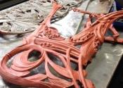 Coalbrookdale bench restoration (2)