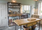 Industrial style kitchen furniture by Mia Marquez - Interior Designer. Made by Bath Bespoke www.bathbespoke.co.uk