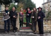 Cecilie Robinson, Jason Balchin, Tim & Ruth Davies, Simon Bushell, Andy Thearle