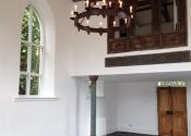 Medieval style barn chandelier by Ironart of Bath
