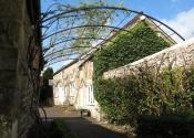 Garden pergola tunnel arch in wrought iiron, Coleford, Near Bath