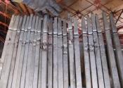 Restoration of the railings at Bennett Street in Bath