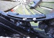 Identifying broken sections, cast iron bench repair
