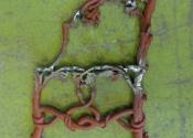 Restoration of an oak and serpent cast iron bench