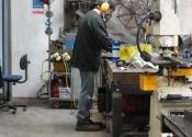 Restoration of a cast iron fire back - Martin Smith Ironart of Bath