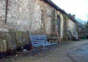 Restoration of a Victorian slatted garden bench