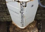 Restoration of original cast iron waymarker signposts by Ironart of Bath