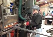 Stacey Hibberd - work experience student at Ironart Ltd