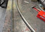 Zero Degrees Gate, Bristol - in the Ironart workshop in Larkhall, Bath