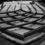 Gothic wrought iron gate - Bristol