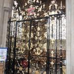 William Edney gates at St Mary Redcliffe Church, Bristol