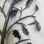 Oak leaf balustrade detail